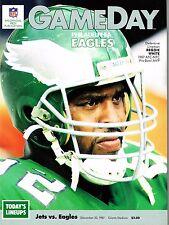1987 New York Jets Home vs Philadelphia Eagles NFL Football Program