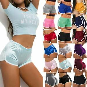 Womens Joggers Yoga Shorts Fitness Gym Butt Lift Booty Running Hot Pants Summer