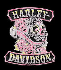 HARLEY DAVIDSON Sugar Rockers Skull 3D Die Cast Pin