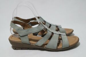 Supersoft by Diana Ferrari Size 9 Womens Leather Arch Support Sandal RRP $139.95