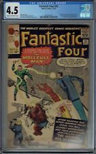 CGC 4.5 FANTASTIC FOUR #20 1ST APPEARANCE OF THE MOLECULE MAN CR/OWPAGES