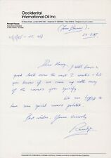 ANTARCTIC TERRITORY ETC STAMPS 1985 LETTER SIGNED RANULPH FIENNES EXAMPLE 3