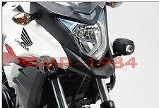 KIT STAFFE HONDA CB500 X per  FARETTI ALOGENI HAWK FOG LIGHT MOTO NSW0100410400/