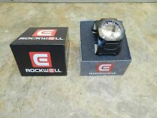 ROCKWELL WATCH HARDRIVE VERY NICE THICK BAND MOTORCYCLE V-TWIN PRODUCTS PROMO