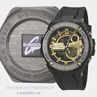 Authentic Casio G-Shock Men's G-Steel 2nd Gen 3D Ana-Digital Watch GST210B-1A9
