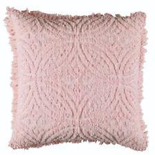 Bianca Savannah Soft Cotton Chenille European Pillowcase Pink