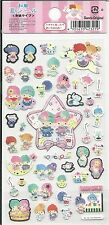 Sanrio Little Twin Stars Stickers Washi Paper