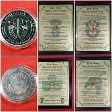Mc-Nice: Special Forces Coin & Personalized Special Forces Creed