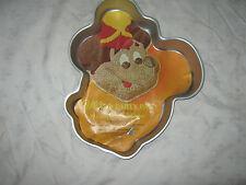 Vintage Wilton Aluminium Novelty Mickey Mouse Cake Baking Character Tray