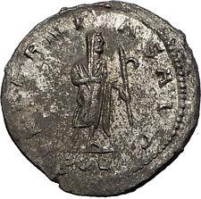 Gallienus Valerian I son Authentic Ancient  Roman Coin Aeternitas  Rare  i58486