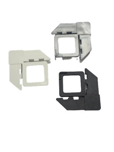 Square Cut With Lift Tab Plastic Screen Frame Corner with Variety of Color & Lot