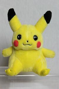 Vintage 1998 Pokemon Pikachu Plush Soft Toy Nintendo Hasbro Game Freak Creatures