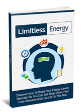Limitless Energy + 10 Free eBooks With Resell rights ( PDF )