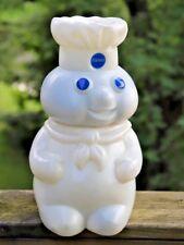 "Vintage Pillsbury Doughboy 12"" Cookie Jar with accessories"