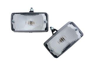2x Rückfahrleuchte 135x70x61 Gelenkhalter Rückfahrscheinwerfer m. Glühbirnen 24V