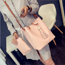 PU Leather 4pcs Women Handbag Shoulder Bag Tote Purse Messenger Satchel Clutch