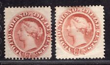 NEWFOUNDLAND CANADA 1865/94 STAMP Sc. # 28a MNG