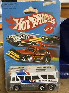 Hot Wheels Greyhound Bus BP 1980