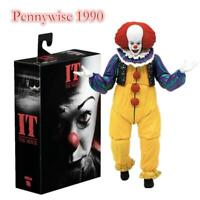 """It (1990) Pennywise Ultimate 7"""" Action Figure Horror Clown"""