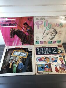 Mixed Lot Rare Childrens Records