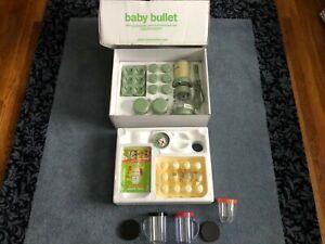 "Baby Bullet BB-101 Food Blender Processor System, New, ""Missing Cross Blade"""