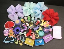 Accessories Lot Random 7PCS Clothes Skirts Collars Food Drink Bow Laptop For LPS