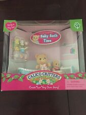 Calico Critters Melissa & Melody's Baby Bath Time Set CC1448 New in Box