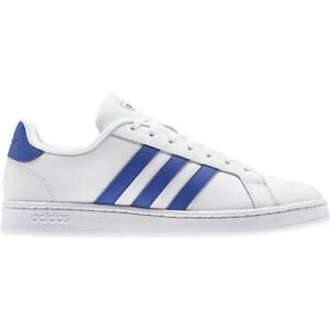 adidas Grand Court Sneaker Herren - weiß/blau