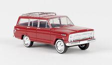 Brekina 19850 Jeep Wagoneer, rojo, TD
