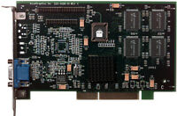 AccelGraphics PermediaII 8MB AGP Video Card 6000748 225-0128-01