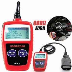 Car Fault Code Reader Engine Diagnostic Scanner Reset Tools MS309 OBD2 OBDII UK
