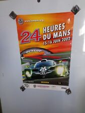 Le Mans 24 Hour 2002 Original Race Poster