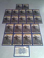 *****Bill Shakespeare*****  Lot of 21 cards / Notre Dame / Football