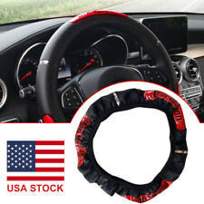15inch/38cm Anti-slip PU Leather Car Steering Wheel Cover Protector Accessories
