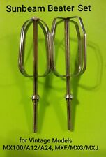 Sunbeam beater set for Vintage models MX100/ MXF/G/J/A12/A24, v/ good condition
