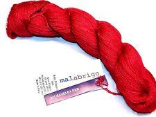 RAVELRY RED 420yd Skein Malabrigo BABY SILKPACA Alpaca & Silk Luxury Lace YARN