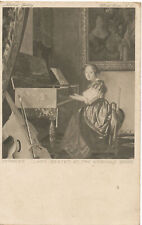 PC11654 Vermeer. Lady Seated at the Virginals. 2568. 1942