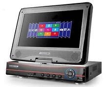 """DVR NVR 8 CH CANALI AHD WIFI COMBO CON SCHERMO LCD 10.1"""" VIDEOSORVEGLIANZA H.264"""