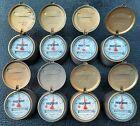 LOT of 8 Vintage NEPTUNE Trident Brass Water Meters, Appear UNUSED