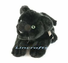 Panther Plush Soft Toy by Dowman Soft Touch.Sold by Lincrafts Est 1993. 20cm