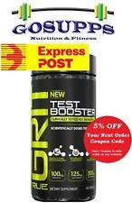 True GRIT Test Booster 120 Tablets Anti-Estrogenic Cortisol Testosterone JYM