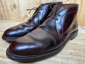 ALDEN Chukka Color 8 SHELL CORDOVAN Boots Barrie Last, USA #1339 Size - 9.5 B/D