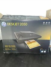HP DeskJet 2050 All-In-One Inkjet Printer UNTESTED AND USED