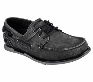 SKECHERS Men's Relaxed Fit Memory Foam Boat Shoes Size 9.0 **Brand New w/ Tags**