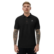 Embroidered Polo Shirt AA1 CLOTHING