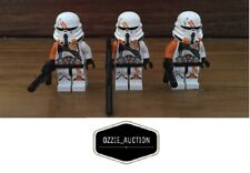 Lego Star Wars lot of 3 - 212th Airborne Clone Trooper Minifigure [75036]
