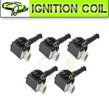 Set of 5PCS New Ignition Coils for VOLVO S40 S60 V50 V70 C30 C70  XC70 UF517