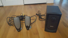 Dell A425 2.1 Channel Computer Speakers Zylux Used Tested Working Sound Great