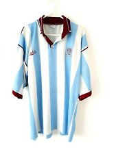 West Ham United Away Shirt 1991. Large. White Adults Football Utd Top Only L.