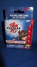 BRAND NEW Bakugan Attack Playing Card Game